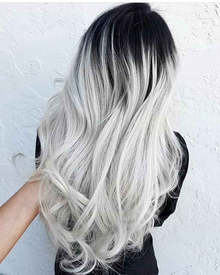 9194b0e6b37e2eaf1dc4f09fb49da682--ombre-hair-platinum-silver-black-ombre-hair